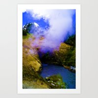 Dragon's Breath Art Print