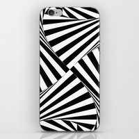 Twiangle BW iPhone & iPod Skin