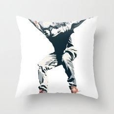 Skater 2 Throw Pillow