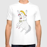 On the unusually popular full man half centaur Intercontinental champ. Mens Fitted Tee White SMALL
