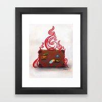 Souvenirs of Hell Framed Art Print