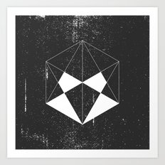 Hexagon Art Print