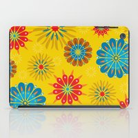 Psycho Flower Gold iPad Case