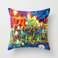 Chatbots Throw Pillow
