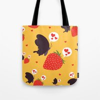 The Death Loves The Stra… Tote Bag