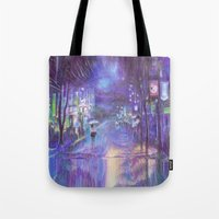 Into the Night Tote Bag