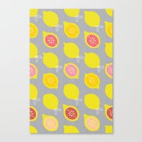 Lemony Canvas Print
