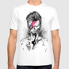 Zombowie SMALL White Mens Fitted Tee