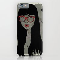 Never met a Hipster that really needs glasses iPhone 6 Slim Case