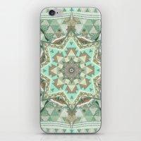 Geometric Four Winds Pas… iPhone & iPod Skin