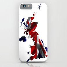 United Kingdom Map and Union Jack Slim Case iPhone 6s
