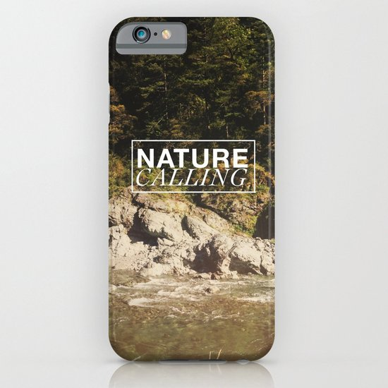 Nature Calling iPhone & iPod Case