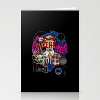 Super Machines Stationery Cards