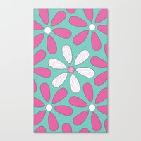 Flower Pattern Canvas Print