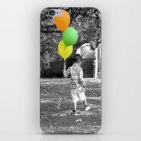 3 Balloons For 3 Years iPhone & iPod Skin