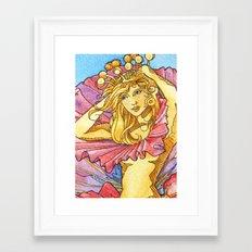 Hibiscus Queen Framed Art Print