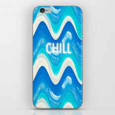 CHILL BEACH WAVE iPhone & iPod Skin