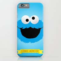 C FOR COOKIE MONSTER iPhone 6 Slim Case