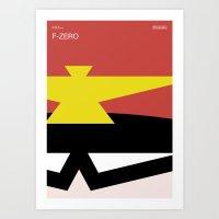 Poster Nintendo F-Zero Art Print