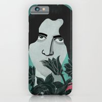 iPhone & iPod Case featuring Oscar Wilde by Joanna Gniady