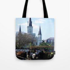 New Orleans Castle Tote Bag