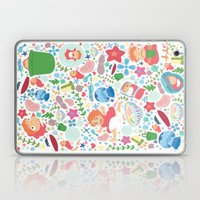 Ponyo Pattern - Studio Ghibli Laptop & iPad Skin