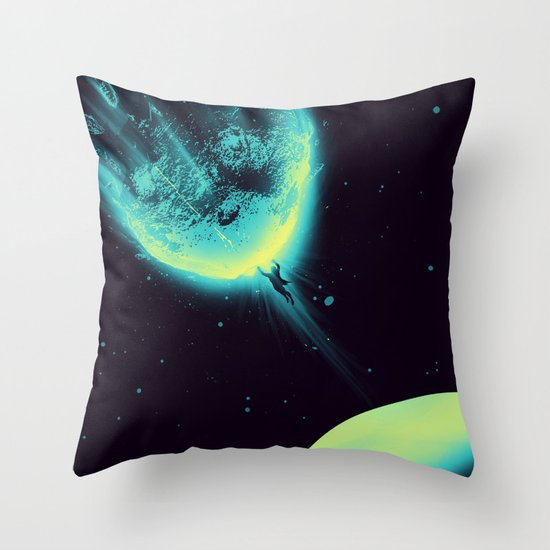 There Is No Planet to Save Throw Pillow