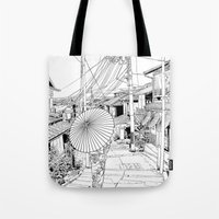 Kyoto - the old city Tote Bag