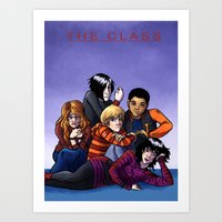 The Class Breakfast Club Art Print
