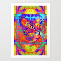 Caticorn-Lady Jasmine Art Print
