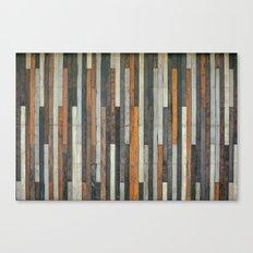 Wood Paneling Canvas Print