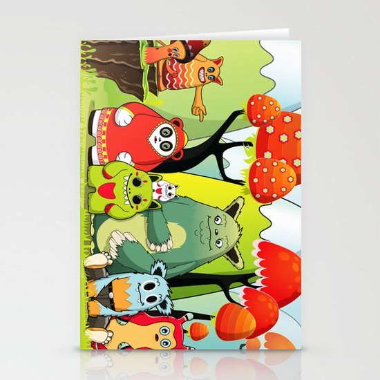 The Gang Stationery Card