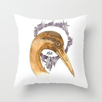 SAINT AIRONE  Throw Pillow