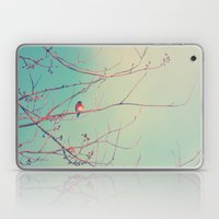 Bluebird Blue Laptop & iPad Skin