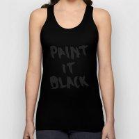 Paint It Black Unisex Tank Top