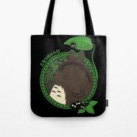 Forest Spirit Neighbor Tote Bag
