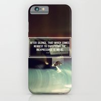 iPhone & iPod Case featuring After Silence by Galaxy Eyes