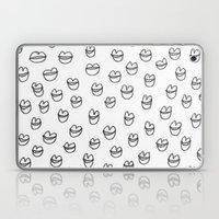 Lips In Grey Laptop & iPad Skin