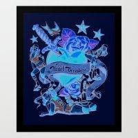 Heart Breakers Art Print