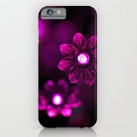 Electric Flowers (Purple) iPhone 6 Slim Case