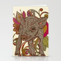 Paisley Piggy Stationery Cards