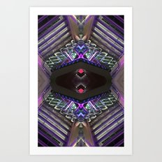 ODN 0215 (Symmetry Series) Art Print