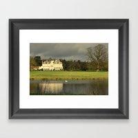 Lexham Hall  Framed Art Print