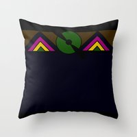 Aeroplano Throw Pillow