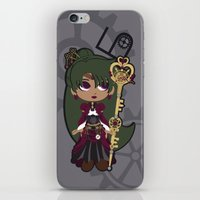 Steampunk Sailor Pluto -… iPhone & iPod Skin