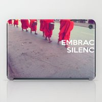 Embrace Silence iPad Case