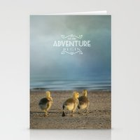 Let The Adventure Begin Stationery Cards