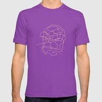 One Line The Thing Mens Fitted Tee Ultraviolet SMALL