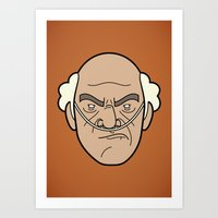 Faces of Breaking Bad: Hector Salamanca Art Print