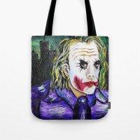 Gotham Is Mine - Heath L… Tote Bag